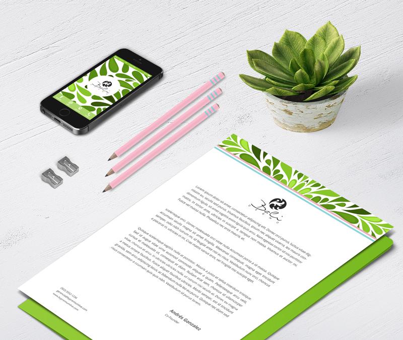 balidermo, by premium live, nube, agencia creativa, branding, identidad corporativa, diseño de imagen corporativa, hojas membretadas